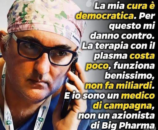 Morte del Dr. Giuseppe De Donno, quanto ci raccontano torna ben poco